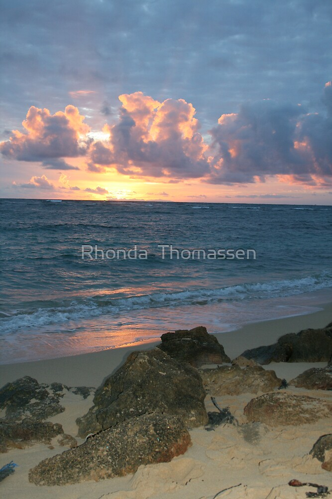 Hawaiian Sky by Rhonda  Thomassen