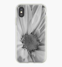 Black & White Daisies iPhone Case