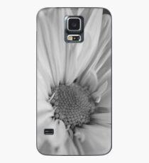 Black & White Daisies Case/Skin for Samsung Galaxy