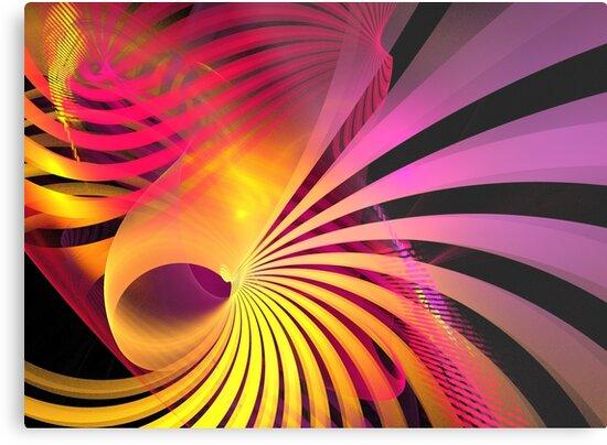 Purple Gold Seashell by KimSyOk