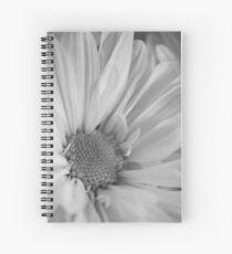 Black & White Daisies Spiral Notebook