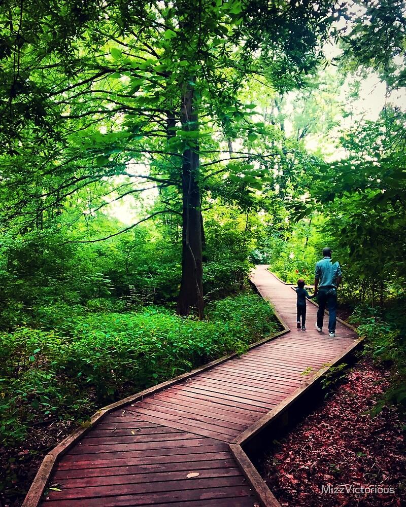 A walk in Bartram's Garden by MizzVictorious