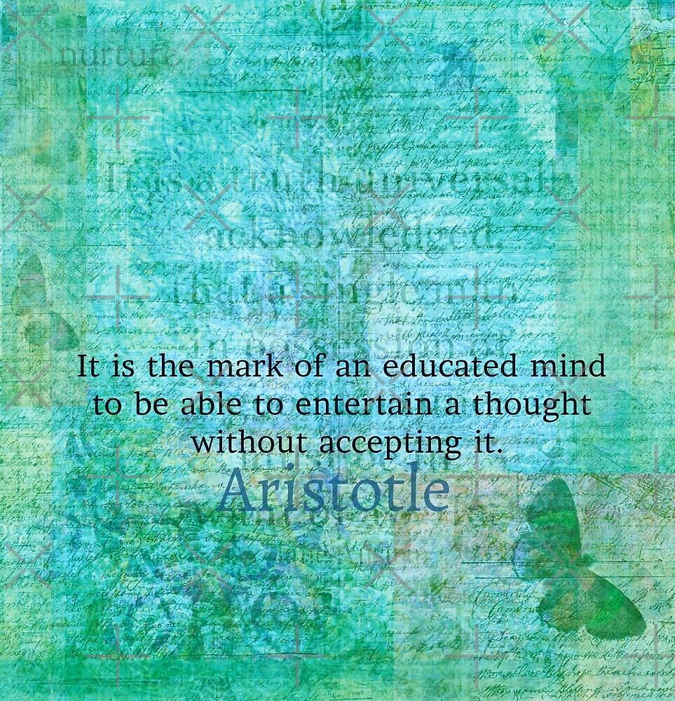 Aristotle Wisdom Quote by goldenslipper