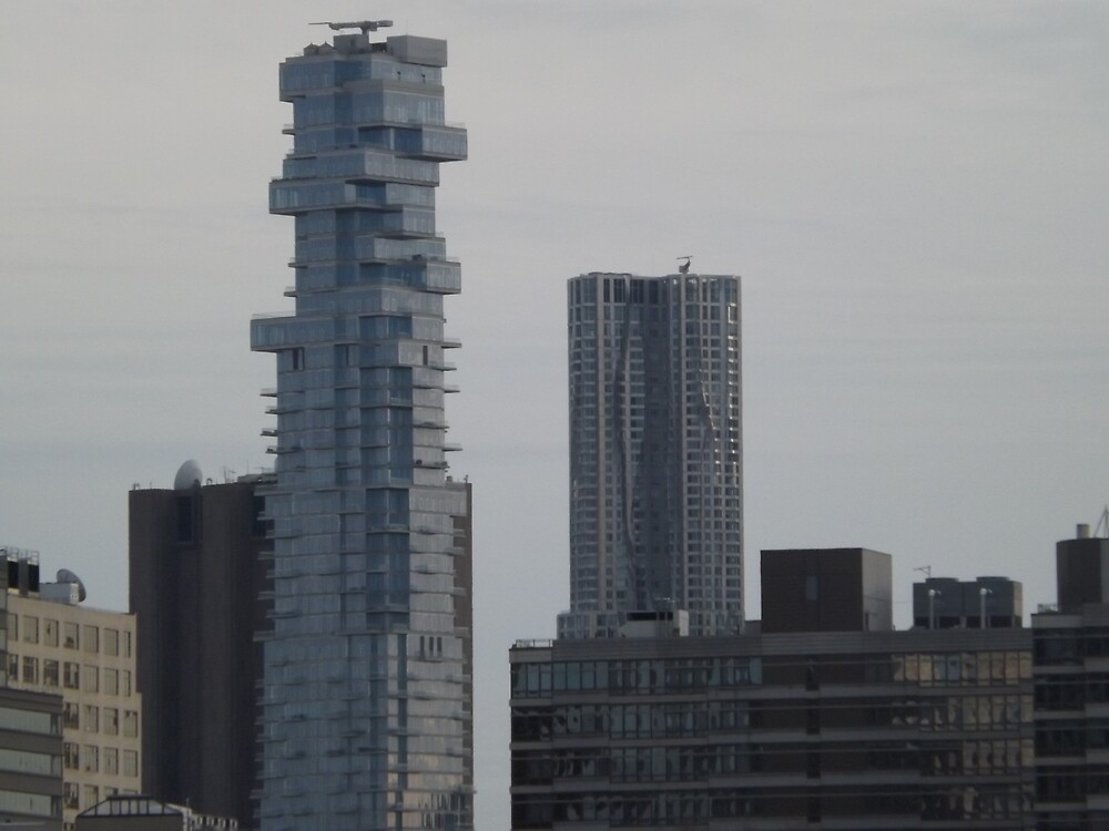 Skyscrapers, Lower Manhattan, New York City by lenspiro