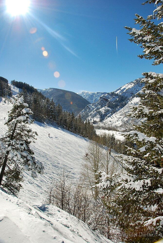 Aspen Skiing by Michael Dietrich