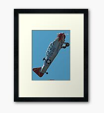 Plane & Simple - North American Texan VH-WHF Framed Print