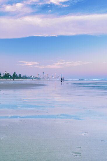 Burleigh Heads beach during the day. by Rob D
