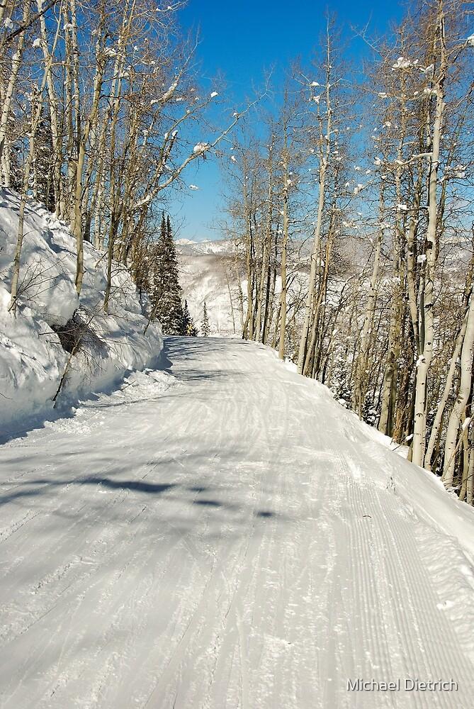 Aspen Highlands Run by Michael Dietrich