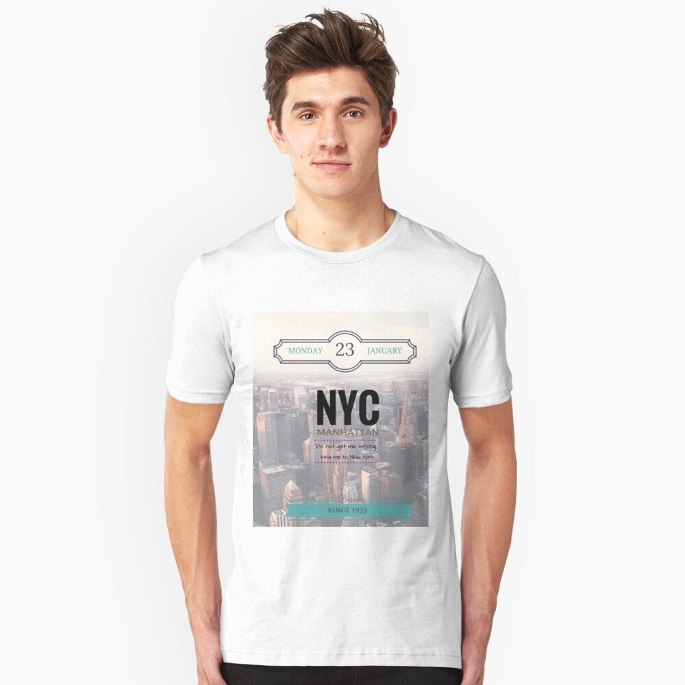 New York Unisex T-Shirt Front