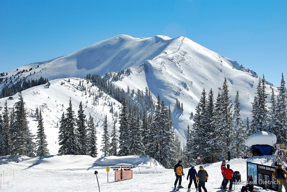 Top of Highlands, Aspen by Michael Dietrich