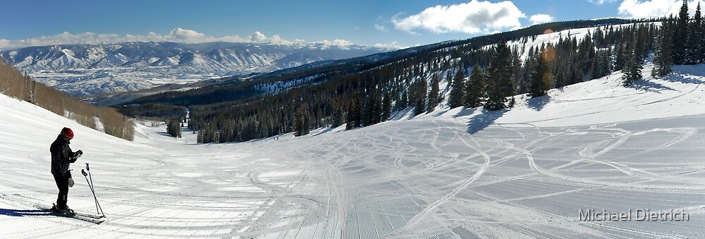 Snowmass Skiing by Michael Dietrich