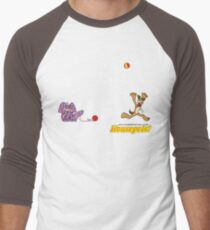 Housepets: Ball and Yarn Men's Baseball ¾ T-Shirt