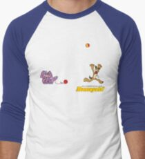 Housepets: Ball and Yarn Men's Baseball ¾ T-Shirt