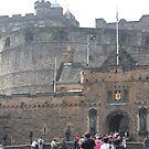 Edinburgh Castle by Stacey Vincent
