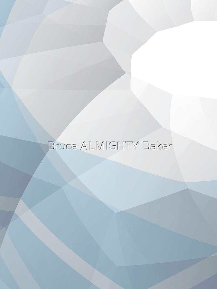 Light Blue Abstract Art by BruceALMIGHTY