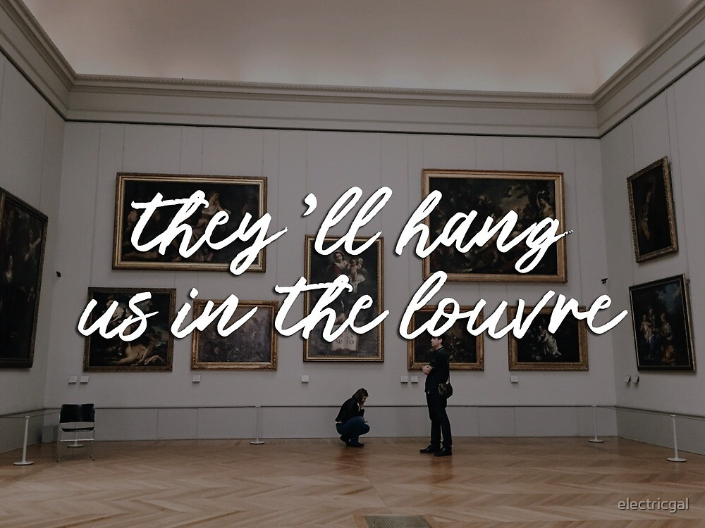 lorde, the louvre lyrics  by electricgal