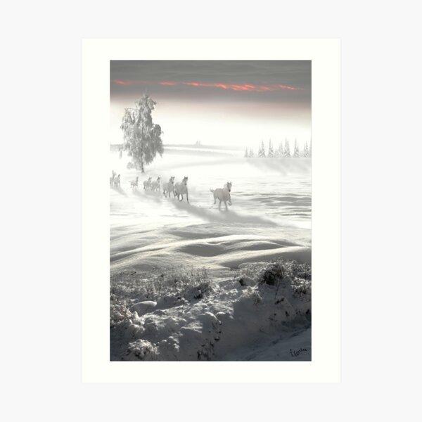 White Spirit Art Print
