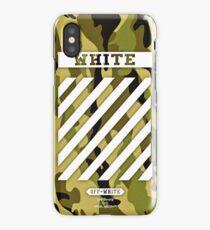 Off White Camo iPhone Case/Skin