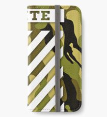 Off White Camo iPhone Wallet/Case/Skin