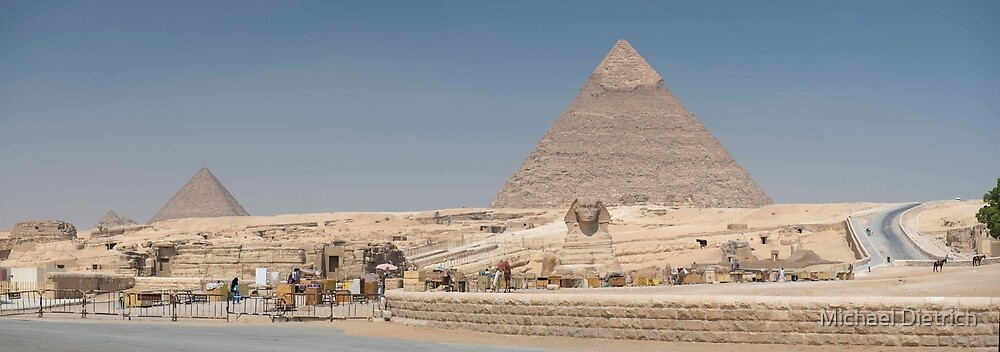 Pyramids by Michael Dietrich