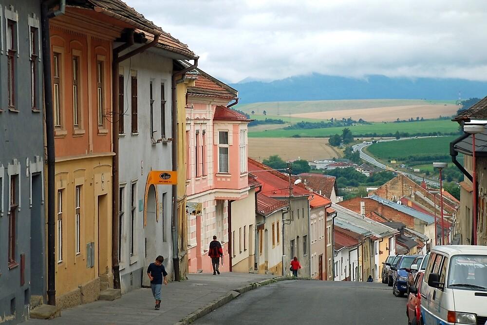 Levoca - Slovakia by Arie Koene
