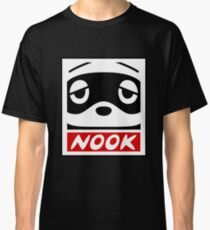 Animal Crossing Pocket Camp Tom Nook OBEY Giant Classic T-Shirt