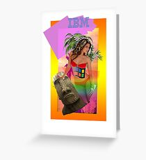 IBM Beauty Greeting Card