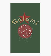 Salami Photographic Print