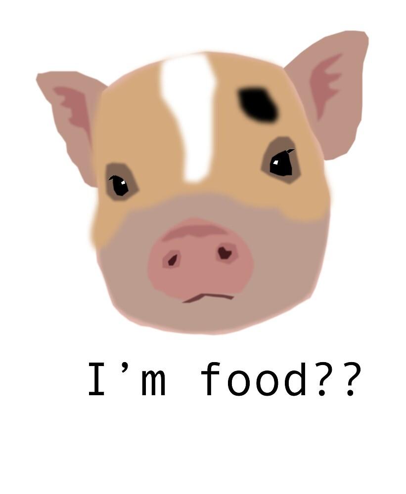 VEGAN PIG by saratrmo