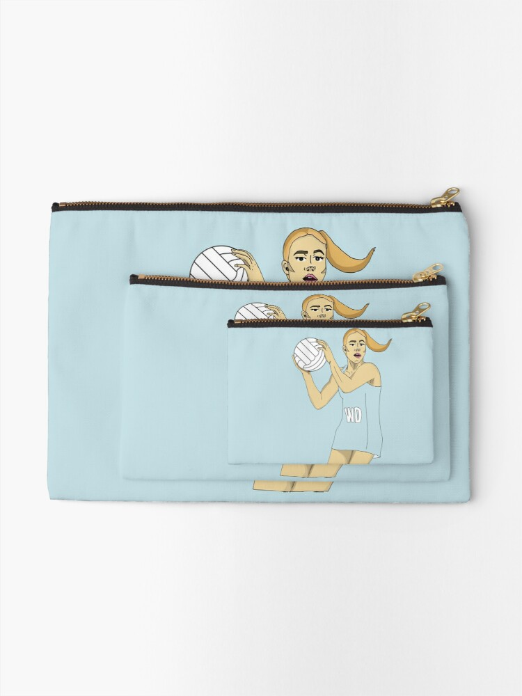 Alternate view of Wing Defence LIGHT BLUE Zipper Pouch
