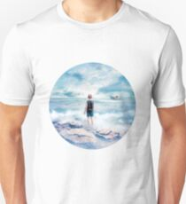 Waiting at the water's edge Unisex T-Shirt