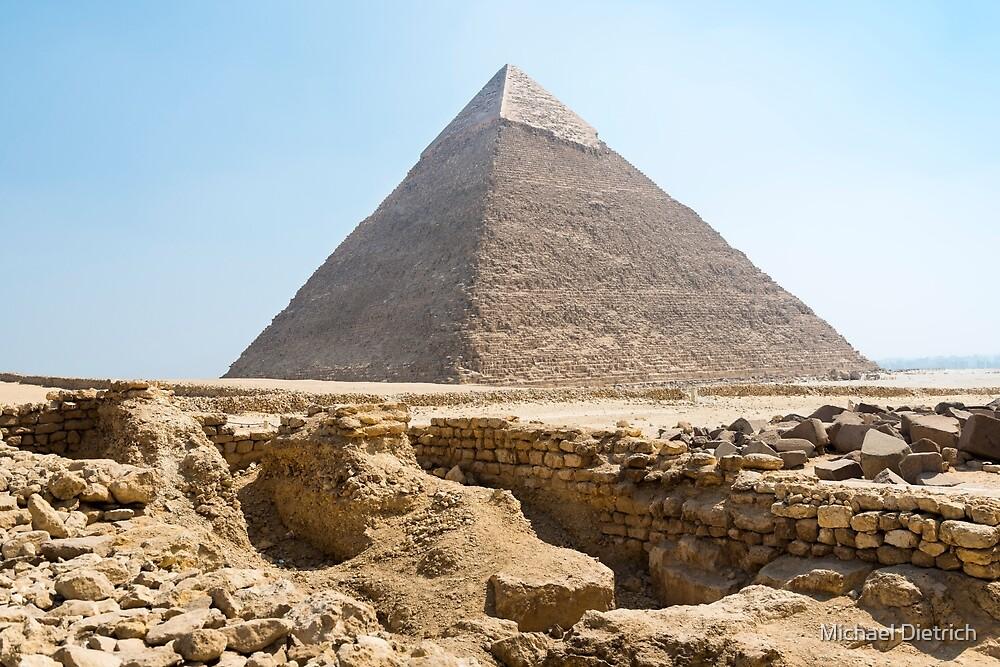 Pyramid of Khafre by Michael Dietrich