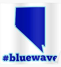Blue Wave (Nevada) Poster