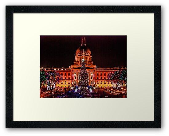 Legislature at Christmas by Randall Talbot