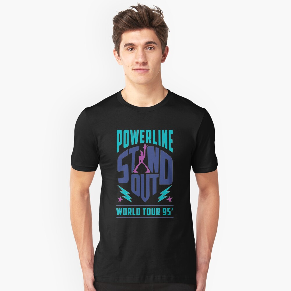 Powerline Stand Out Unisex T-Shirt Front