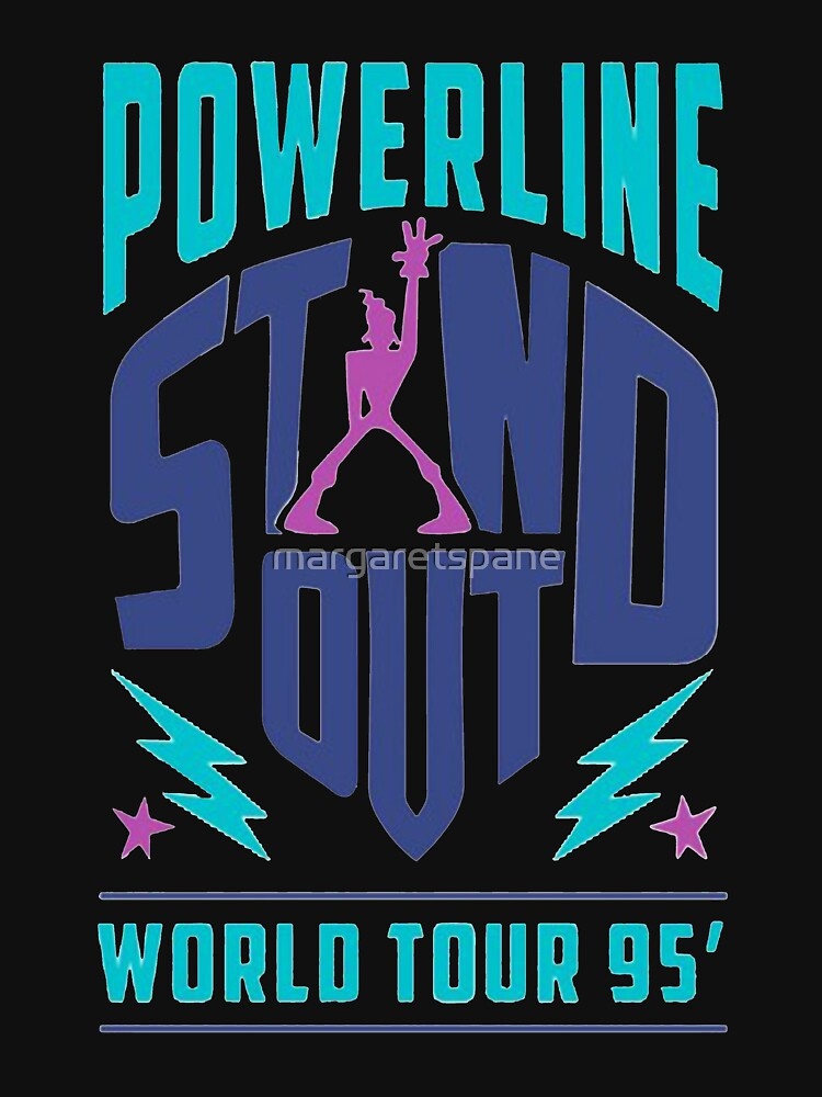 Powerline Stand Out by margaretspane