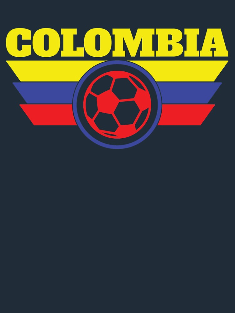 Colombia Jersey Soccer Shirt  World Cup Futbol by 7United