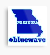 Blue Wave (Missouri) Metal Print