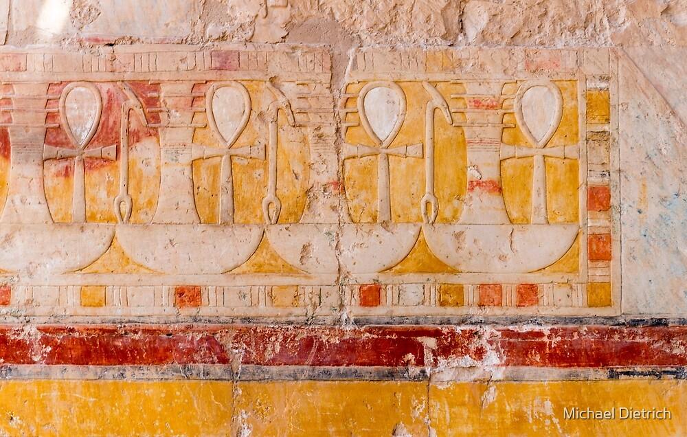 Egyptian Hieroglyphs by Michael Dietrich