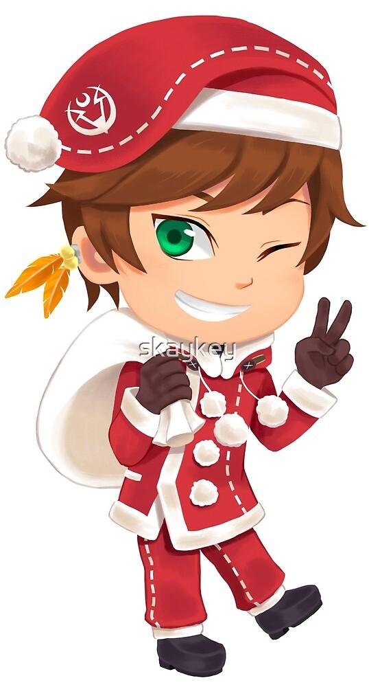 Christmas Sorey by skaykey