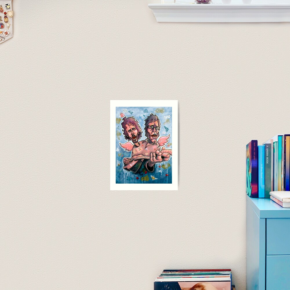 Bret and Jemaine Art Print