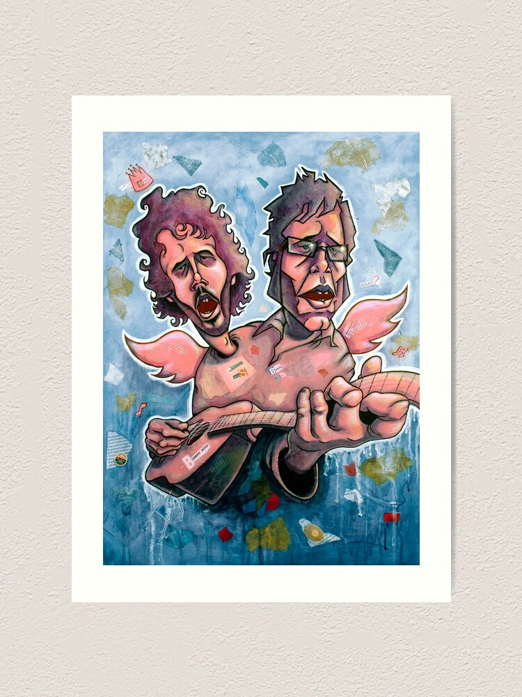 Alternate view of Bret and Jemaine Art Print