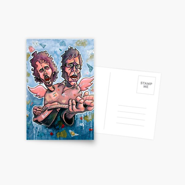 Bret and Jemaine Postcard