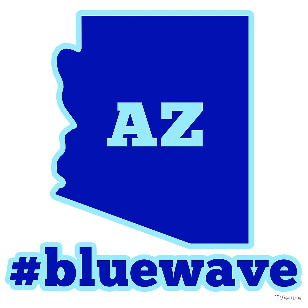 Blue Wave: Arizona by TVsauce