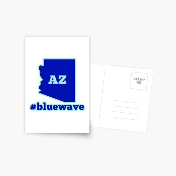 Blue Wave: Arizona Postcard