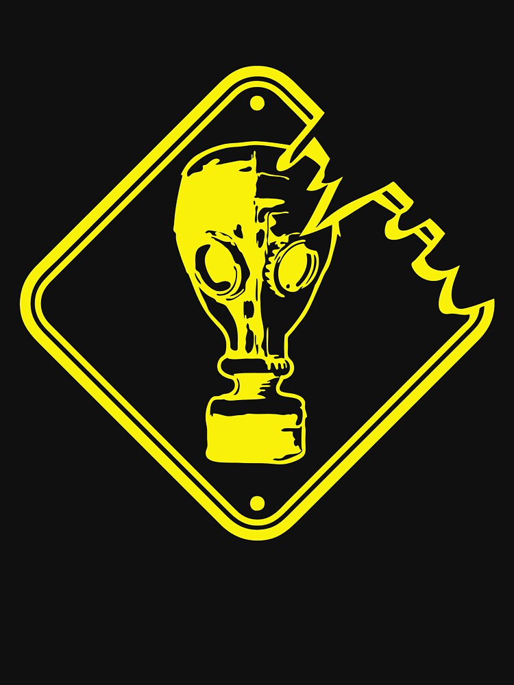 LATEST IF945 Danger Caution Gas Mask Best Trending by TioPionee