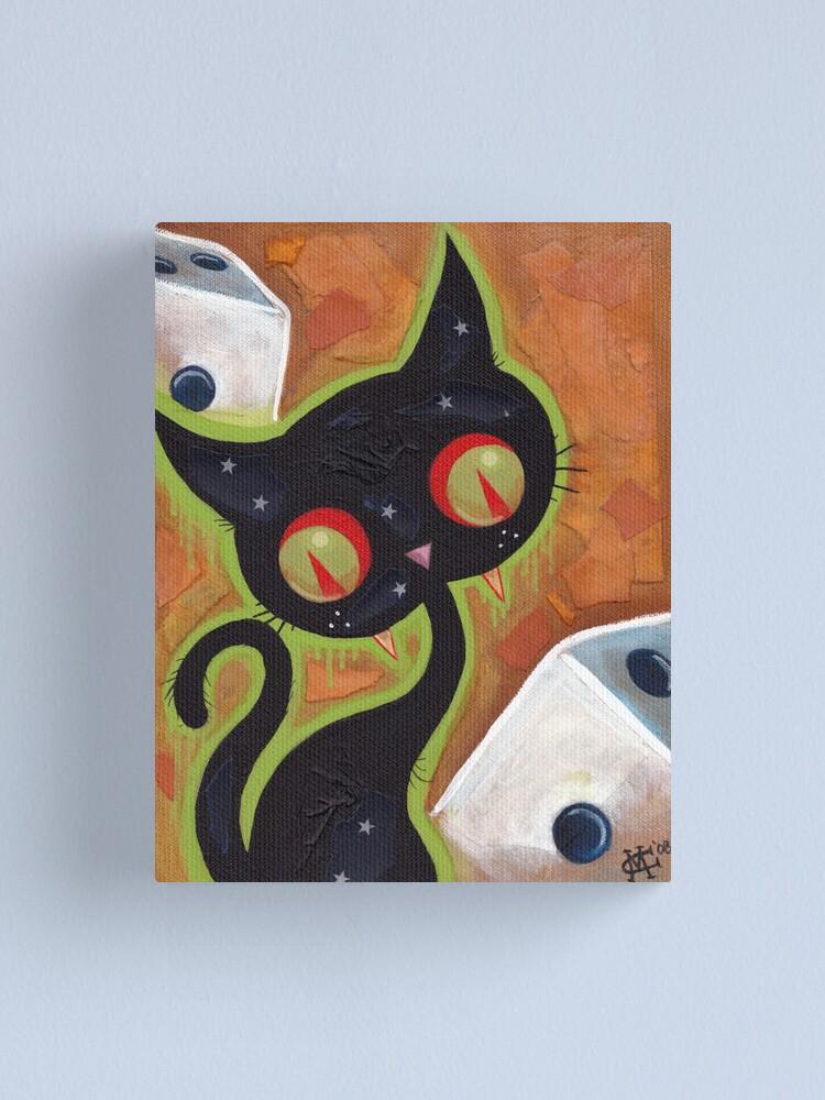 Alternate view of Snake Eyes Canvas Print