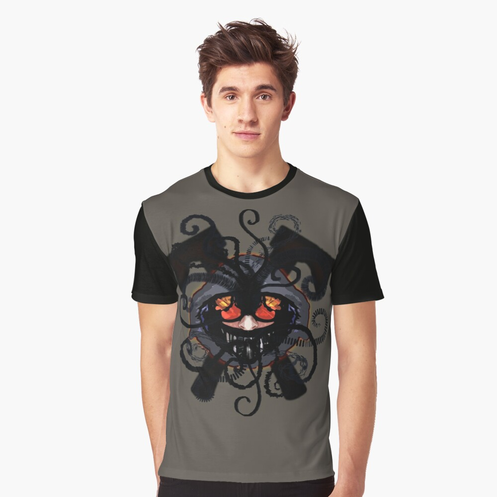 [Creepypasta] Spirals Of Madness (Ticci Toby) Graphic T-Shirt Front