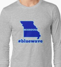 Blue Wave (Missouri) Long Sleeve T-Shirt