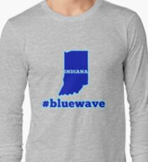 Blue Wave (Indiana) Long Sleeve T-Shirt